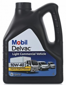 Масло моторное Mobil Delvac™ Light Commercial Vehicle 10W-40 4 л.